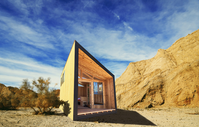 Revamp The Camp Dwell Modern Prefab Cabins For California State Parks Revamp The Camp